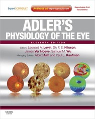 Adler's Physiology of the Eye - copertina