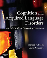 Cognition and Aquired Language Disorders - E-Book - copertina
