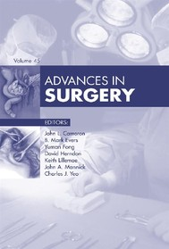 Advances in Surgery - copertina