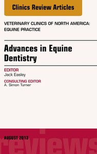Advances in Equine Dentistry, An Issue of Veterinary Clinics: Equine Practice, E-Book - copertina