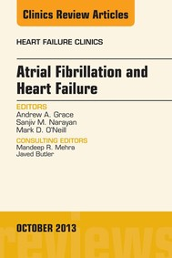 Atrial Fibrillation and Heart Failure, An Issue of Heart Failure Clinics, E-Book - copertina