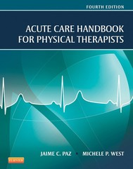 Acute Care Handbook for Physical Therapists - E-Book - copertina
