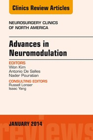 Advances in Neuromodulation, An Issue of Neurosurgery Clinics of North America, An Issue of Neurosurgery Clinics, - copertina