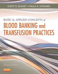 Basic & Applied Concepts of Blood Banking and Transfusion Practices - E-Book - copertina