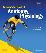 Anthony's Textbook of Anatomy & Physiology - copertina
