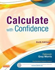 Calculate with Confidence - E-Book - copertina