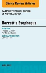 Barrett's Esophagus, An issue of Gastroenterology Clinics of North America, E-Book - copertina