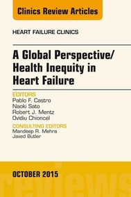 A Global Perspective/Health Inequity in Heart Failure, An Issue of Heart Failure Clinics, - copertina