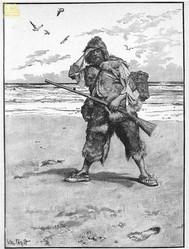 Robinson Crusoe  - copertina
