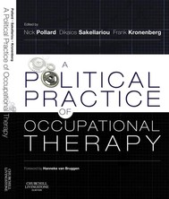 A Political Practice of Occupational Therapy E-Book - copertina