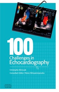 100 Challenges in Echocardiography E-Book - copertina
