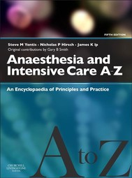 Anaesthesia and Intensive Care A-Z - copertina