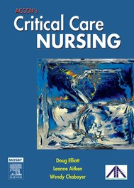 ACCCN's Critical Care Nursing - copertina