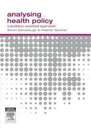 Analysing Health Policy - copertina