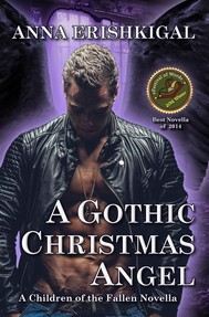 A Gothic Christmas Angel - copertina