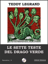 Le sette teste del drago verde - copertina