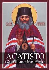 Acatisto a San Giovanni Maximovich - copertina