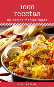 1000 Recetas de Cocina Mediterránea - copertina