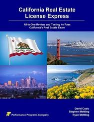 California Real Estate License Express - copertina