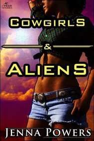 Cowgirls and Aliens (Science Fiction Erotica) - copertina