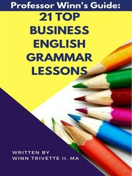21 Top Business English Grammar Lessons - copertina