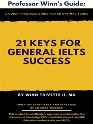 21 Keys for General IELTS Success - copertina