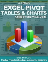 Excel Pivot Tables & Charts - A Step By Step Visual Guide - copertina