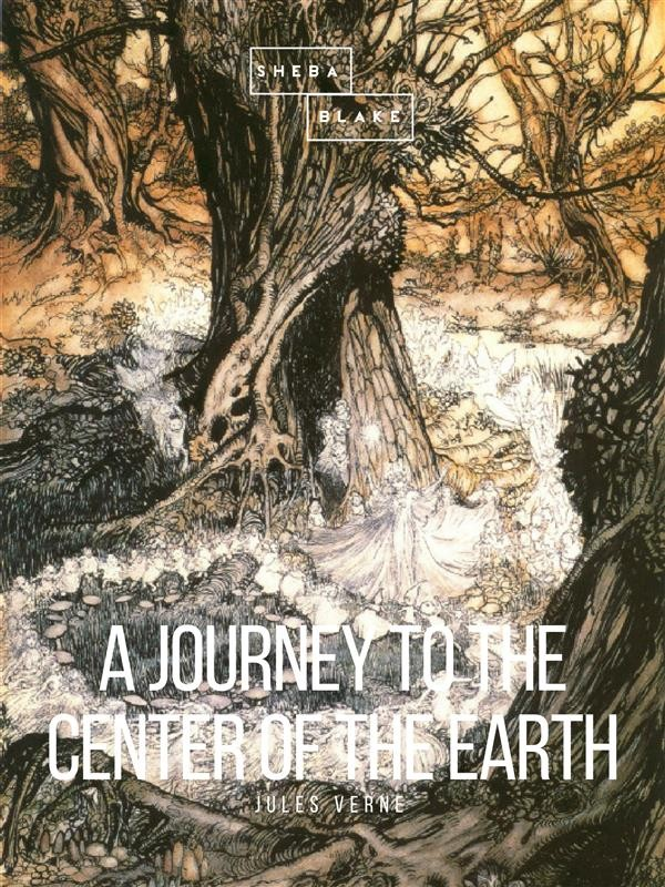 Book Cover Images Api : A journey to the center of earth jules verne ebook