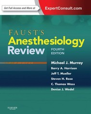 Faust's Anesthesiology Review E-Book - copertina