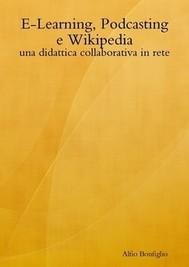 E-Learning, Podcasting e Wikipedia: una didattica collaborativa in rete - copertina