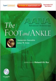 AANA Advanced Arthroscopy: The Foot and Ankle - copertina