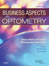 Business Aspects of Optometry E-Book - copertina