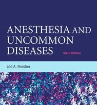 Anesthesia and Uncommon Diseases - copertina