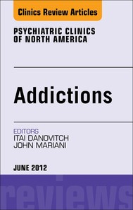 Addiction,  An Issue of Psychiatric Clinics - copertina