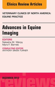 Advances in Equine Imaging, An Issue of Veterinary Clinics: Equine Practice - copertina