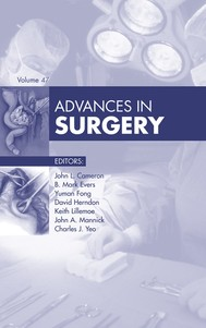 Advances in Surgery, - copertina