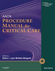AACN Procedure Manual for Critical Care - copertina