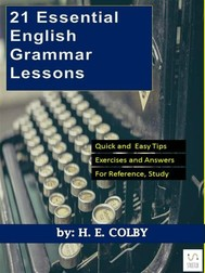 21 Essential English Grammar Lessons - copertina