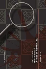 A case of identity 1891 - copertina