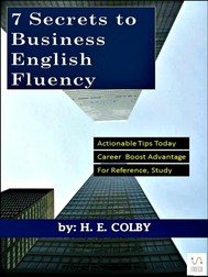 7 Secrets to Business English Fluency - copertina