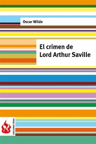 El crimen de Lord Arthur Saville (low cost). Edición limitada - copertina