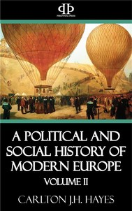 A Political and Social History of Modern Europe: Volume II - copertina