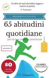 65 abitudini quotidiane per la tua crescita personale - copertina