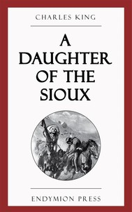 A Daughter of the Sioux - copertina