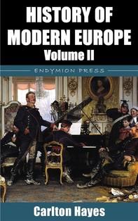 History of Modern Europe - Volume II - Librerie.coop