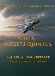 Adeus, A672E92 Quintus - copertina