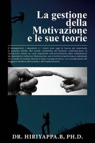 La Gestione Della Motivazione - Librerie.coop