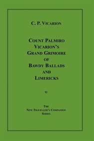 Count Palmiro Vicarion's Grand Grimoire of Bawdy Ballads and Limericks - copertina