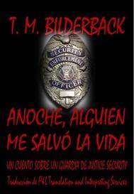 Anoche, Alguien Me Salvó La Vida - copertina