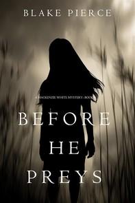 Before He Preys (A Mackenzie White Mystery—Book 9) - Librerie.coop
